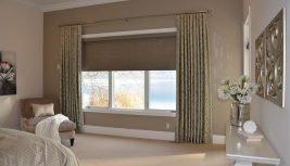 Рулонные и классические шторы